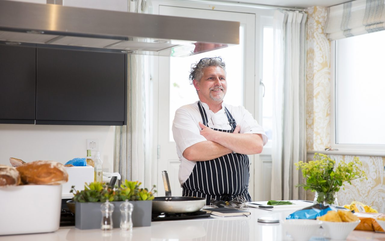 Ben Tunnicliffe, award-winning chef