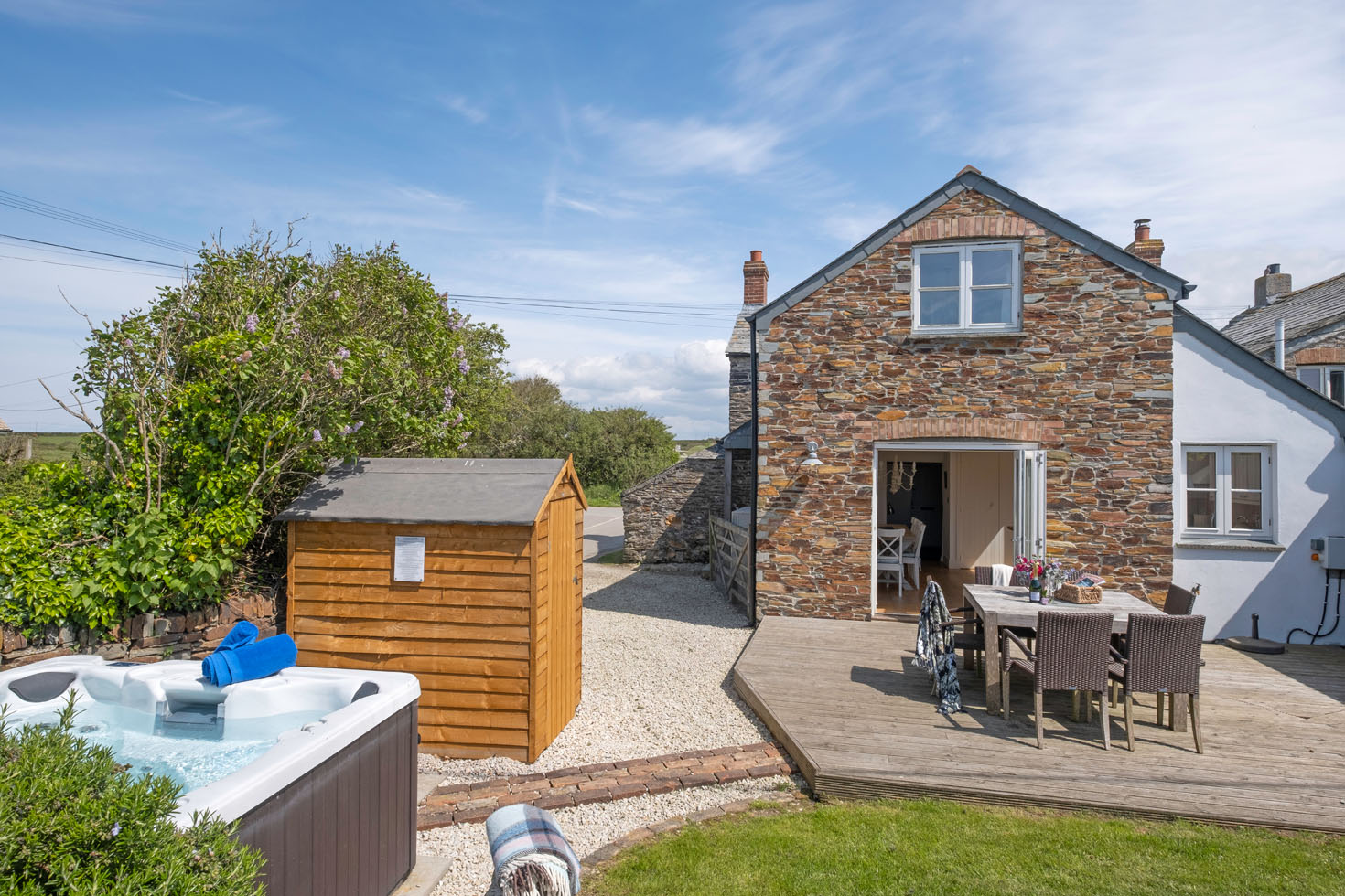Brilliant Last Minute Luxury Cottages In Cornwall Special Offers Home Interior And Landscaping Ponolsignezvosmurscom